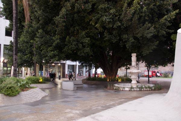 urbanización jardín parasol