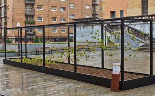 Gora Behera Erdira Barrura- Bilbao jardín 2011