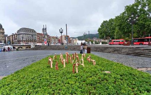 Manos -Bilbao Jardín 2011