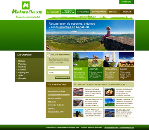 Web Naturalia XXI