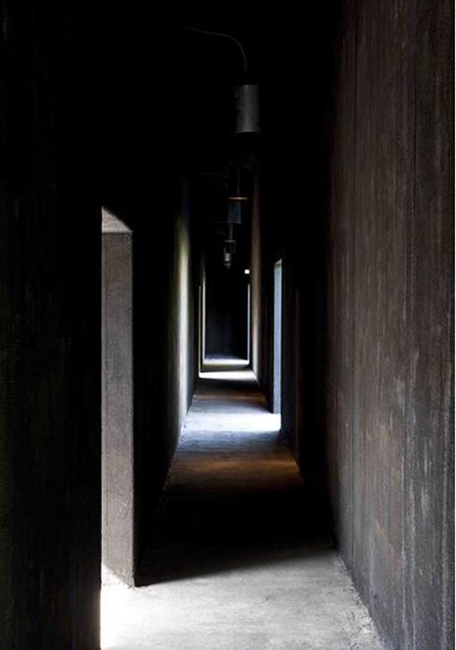 Pasillos interiores Pabellón Serpentine 2011