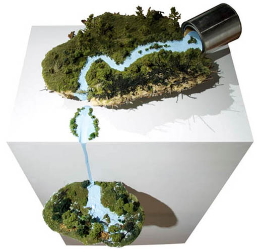 Gregory Euclide, cuadro+ rio