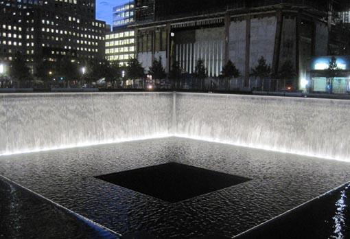 Cascada nocturan, WTC