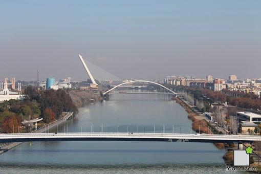 Puentes construidos para la Expo92