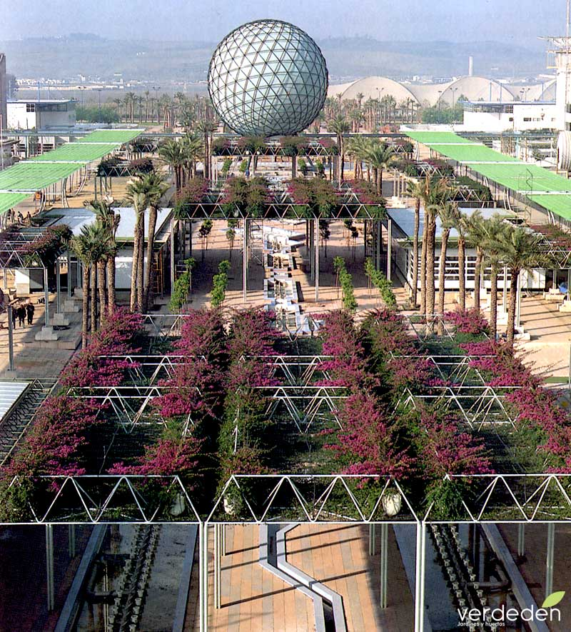 Avenida de las Palmeras, Avenida 3 Expo92 plano general- 25 años de EXPO 92