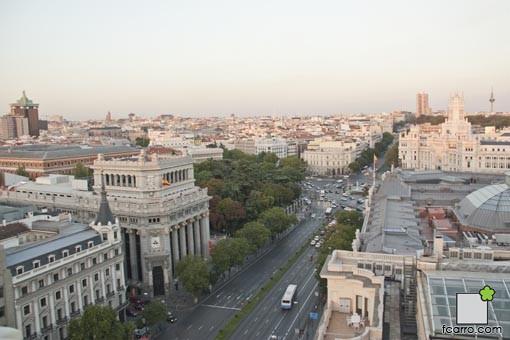 Ultimo anochecer del verano: Calle Alcalá
