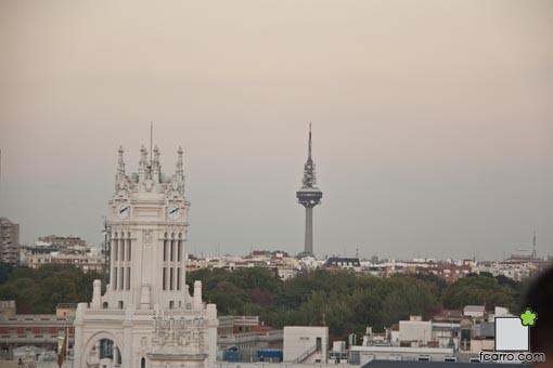 Ultimo anochecer del verano: Torre España