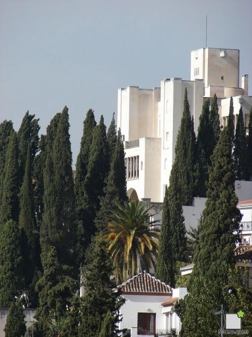 Vista de la Fundación Rodríguez Acosta