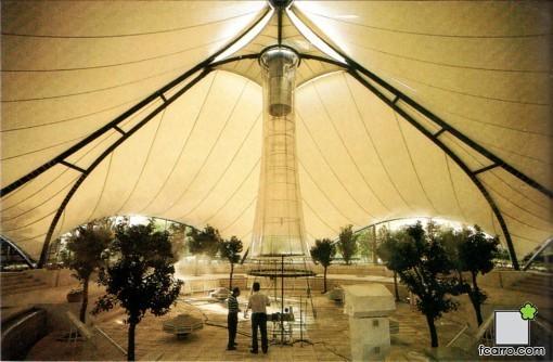 Zona de experimentación : Rotonda climática