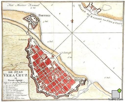 Ordenación del territorio: Plano de Veracruz
