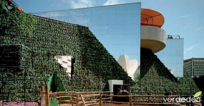 paisajismo de Expo92: Pabellón de México