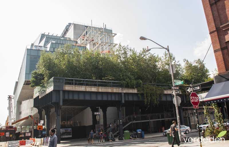 Highline entrada sur