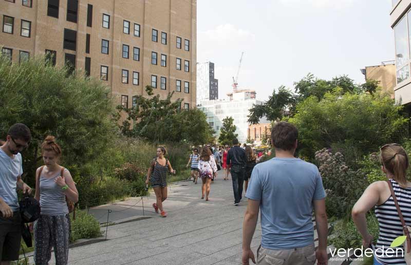 Highline entorno a la calle 18