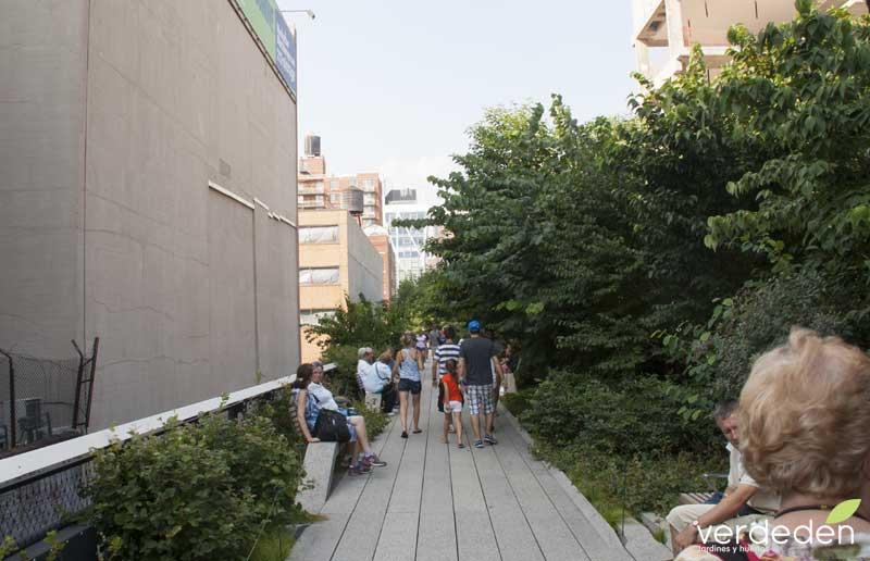 Highline: estrechez de Chelsea