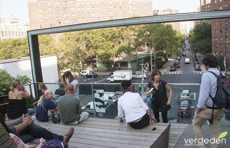 Highline: mirador calle 26