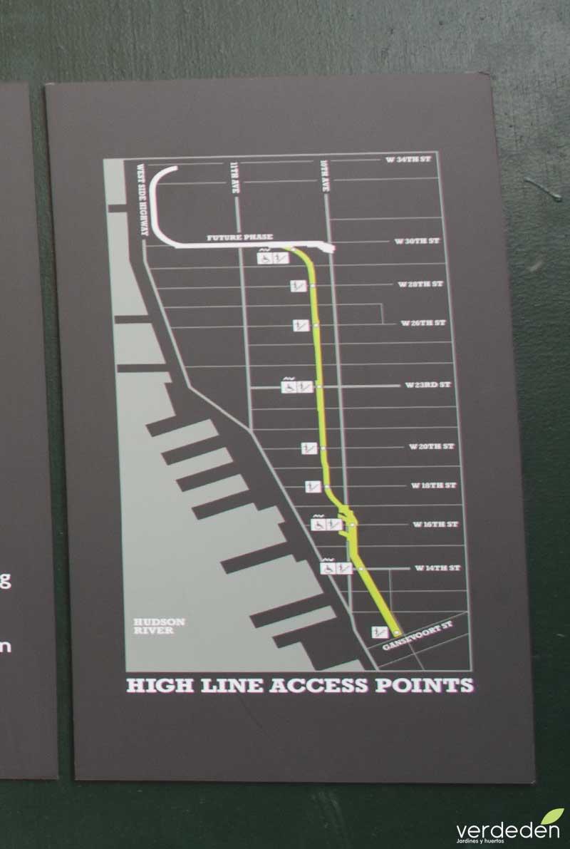 Highline, mapa