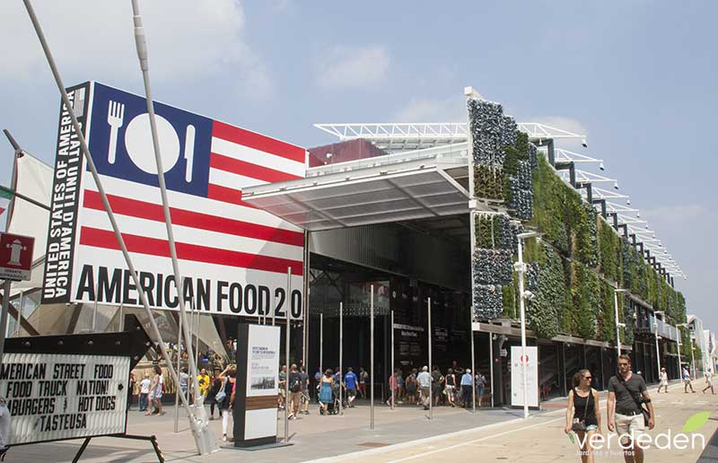 Expo2015 Milano Pabellón Usa