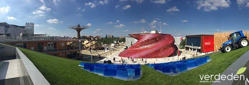 Expo2015Milana Desde el Pabellón de New Holland