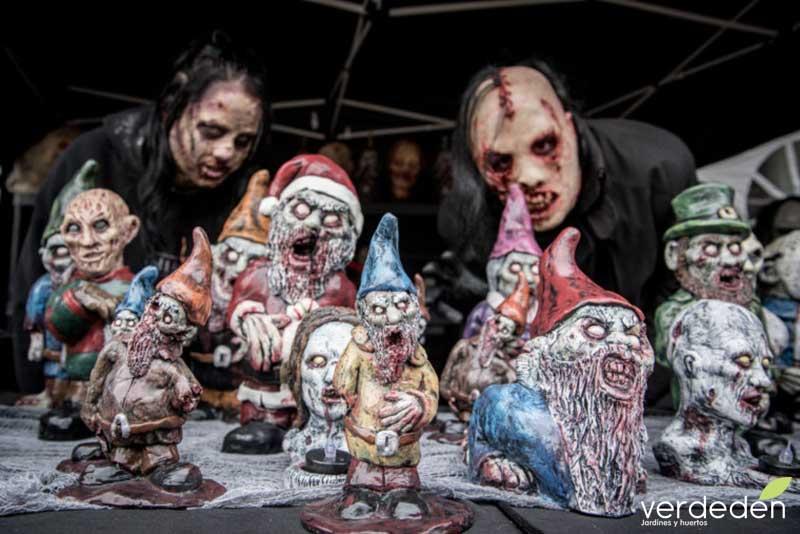 gnomos zombies (de jardín)