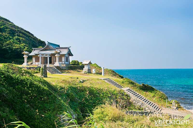 Isla sagrada de Okinoshima y sitios asociados de la región de Munakata