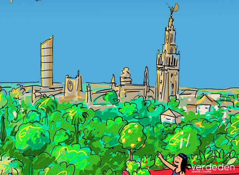 Sevilla, red Sevilla por el clima