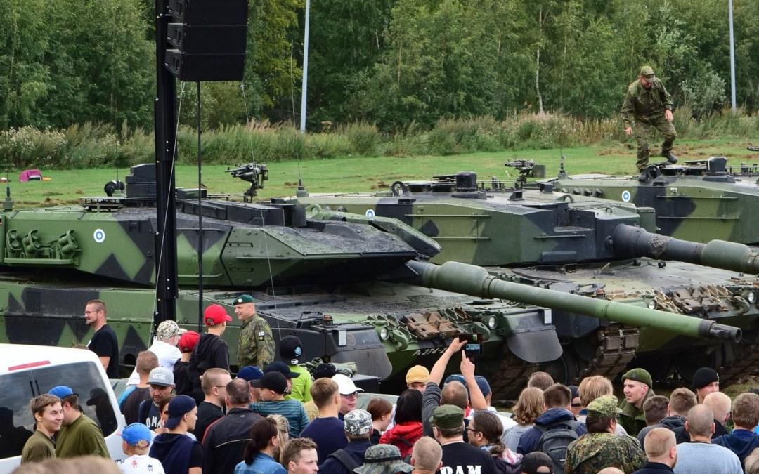 Vihreän liikkeen pitäisi lähteä aidosti mukaan maanpuolustukseen