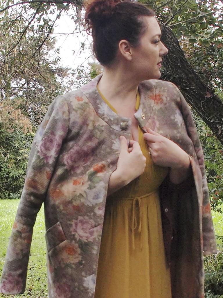 VerdementaBlog_outfit-curvy-cappottino fiori-Elena-Miro-abito-H&M-giallo-taglia48