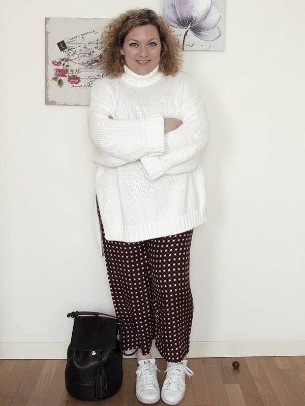 VerdementaBlog_outfit-curvy-maglione oversize bianco pantaloni zara-1