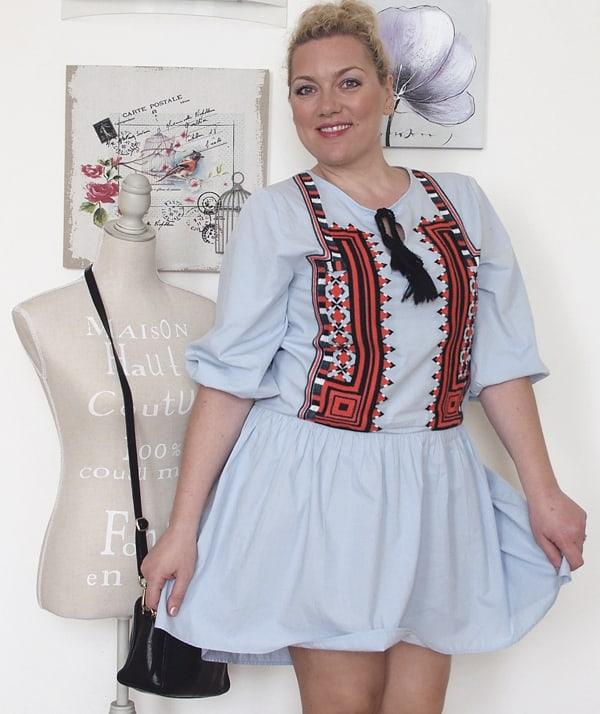 vestito etnico h&m-7