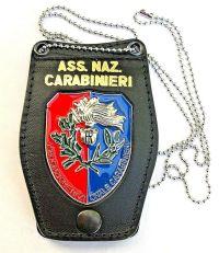 i carabinieri placca da collo