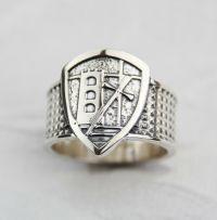 i templari l'anello in argento