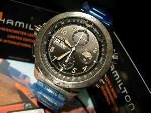 hamilton cronografo militare