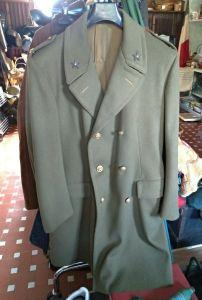 cappotto lungo militare