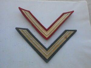 gradi militari