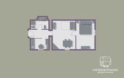 Appartamento 2 | Alloggio OLEA EUROPAEA