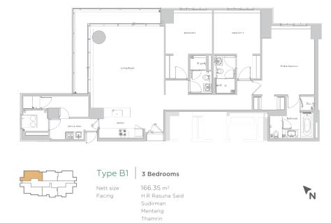 verde two b1 3 bedroom