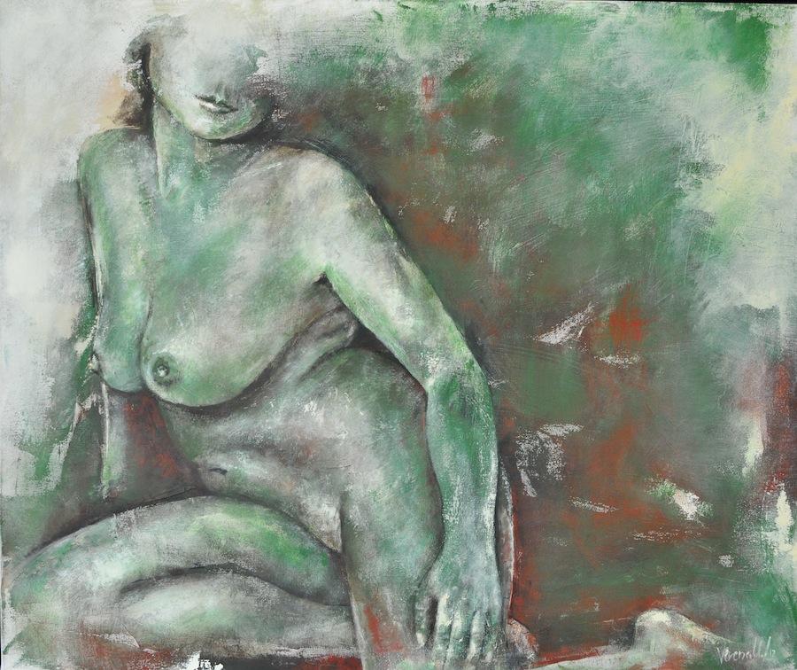 Alexía, Acryl auf Leinwand, 100x120cm