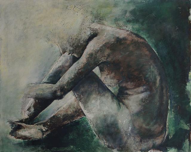 Madlen, Acryl auf Leinwand, 100x80cm