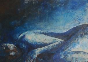 Erydike, Acryl auf Leinwand, 50x60cm