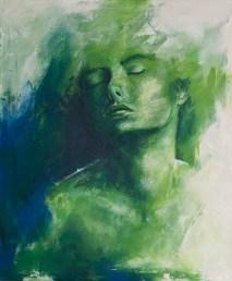 Lavinia, Acryl auf Leiwand, 120x100cm