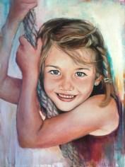 Anna, Acryl auf Leinwand, 60x50cm