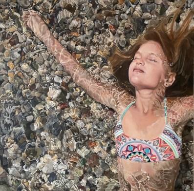 njoy, Acryl auf Leinwand, 120x120cm