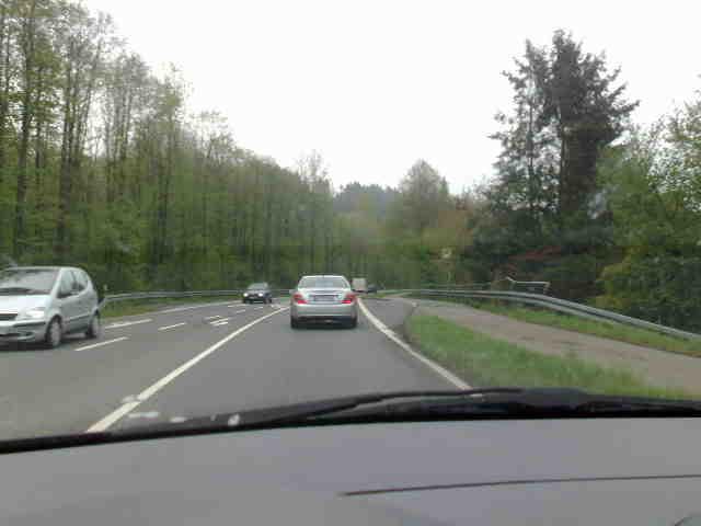 Fahrt zur Arbeit
