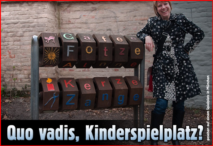 Quo vadis, Kinderspielplatz?