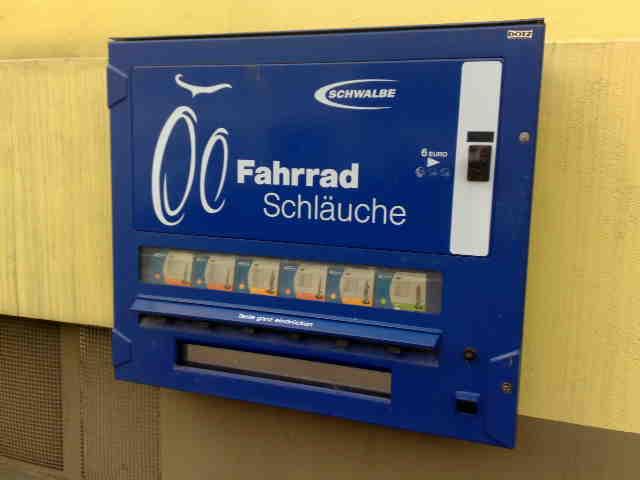 Fahrradschlauch-Automat!