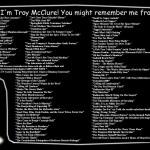 Hi, I'm Troy McClure!