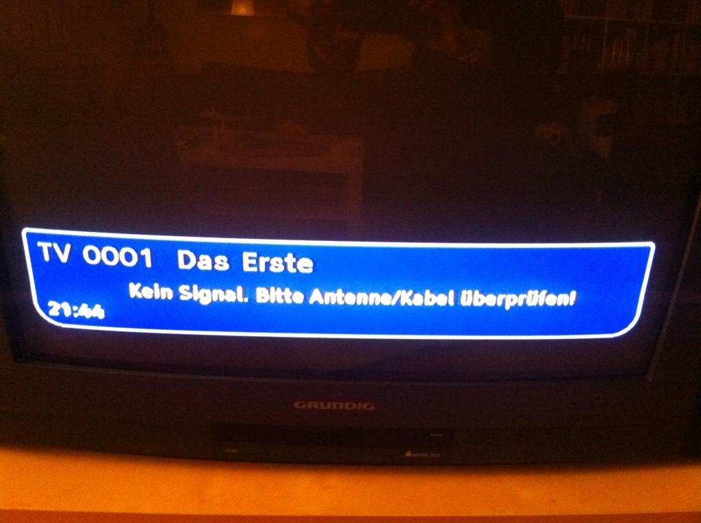 DVBT down :(