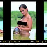 Der erotische Karpfenkalender