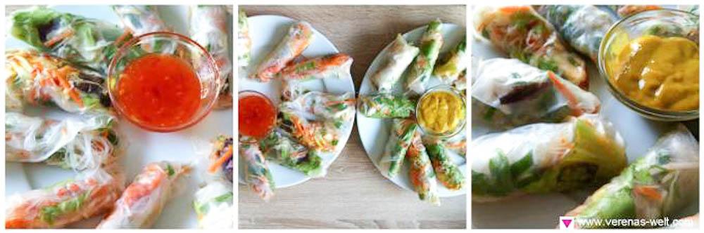 Vietnamesische Sommerrollen