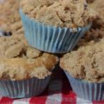 Blaubeer-Muffins mit Zimtstreuseln
